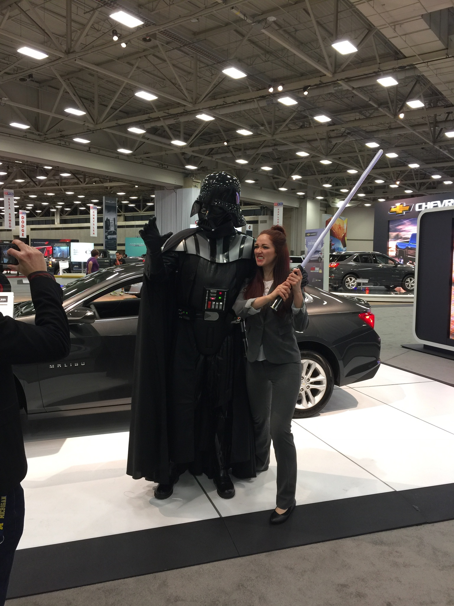 Darth V - DFW Auto Show