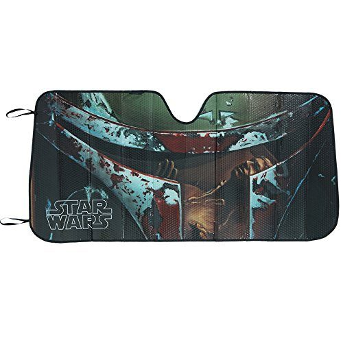 Plasticolor-003720R01-Star-Wars-Boba-Fett-Accordion-Bubble-Sunshade-0